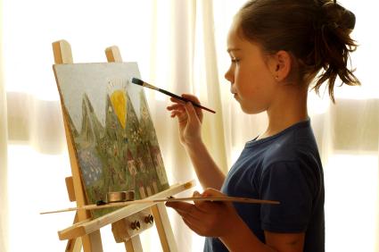 child, copil, artist, creativ, arta, natura