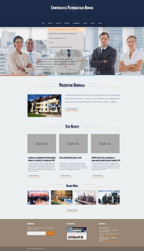 patronatul roman, web interface, interface, photoshop, web design, redesign, web redesign