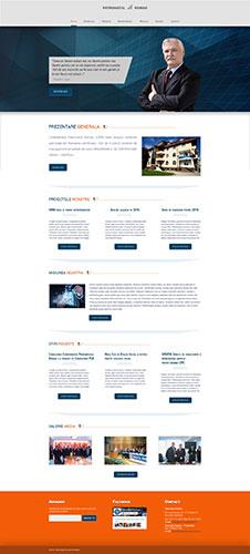 Patronatul Roman, graphic design, web design, web redesign, interface, web interface, web design interface, adobe photoshop, photoshop, web, web site, clean design, design, corporate, ux, ui, ux/ui