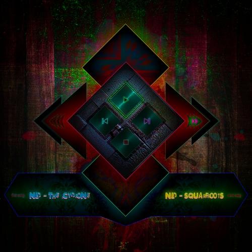 Dark Grungy Neon Player, dark, grungy, neon, music player, player