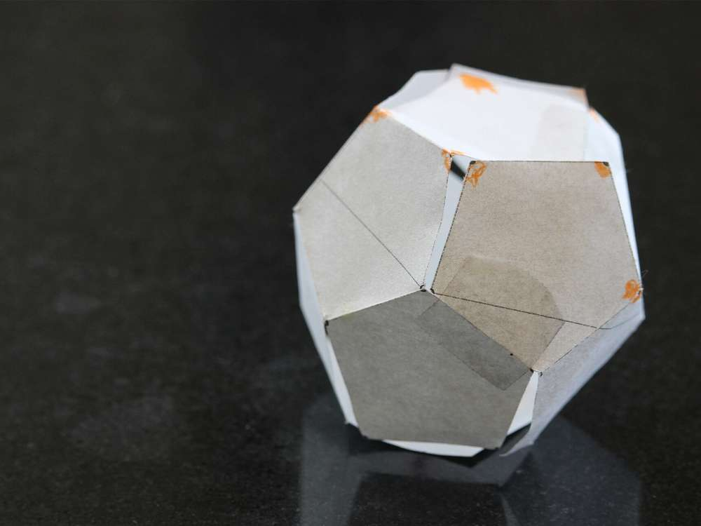solide platonice, dodecaedru, dodecahedron