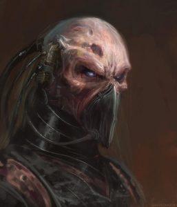 cyborg cu masca