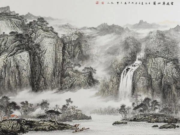 pictura chinezeasca, yin yang