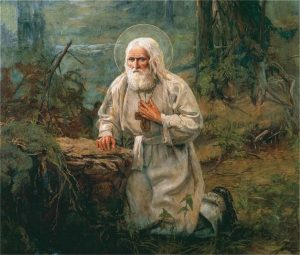 Saint Seraphim of Sarov, nature